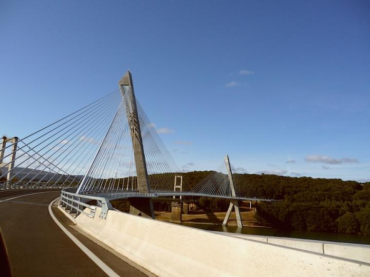 Ponte di Brest, Bretagna, Francia