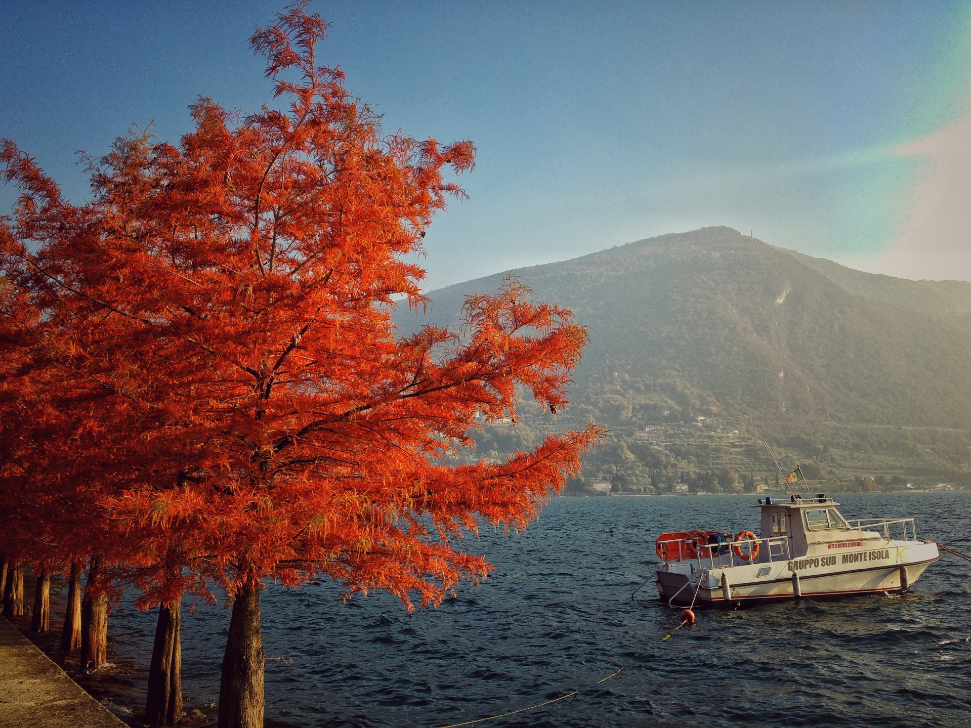 Monte Isola, Lago d'Iseo, Weekend d'autunno